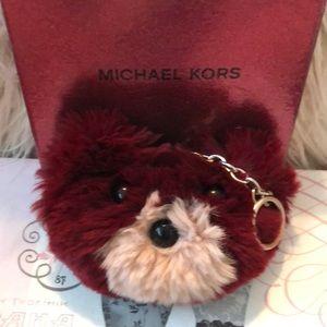 Michael Kors Accessories - Michael Kors teddy bear keychain.